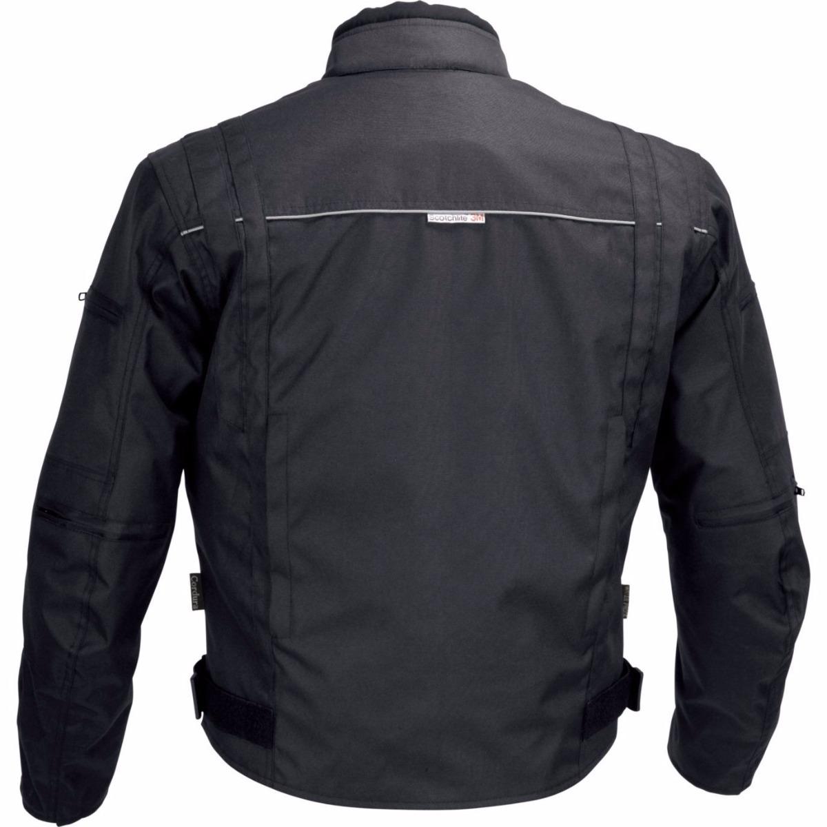 d5aa6298ab8 Chamarra De Motociclista Para Hombre Impermeable Negra -   687.159 ...