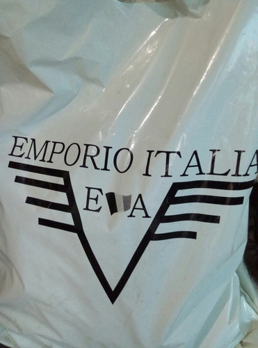 chamarra emporio italia  color negro original