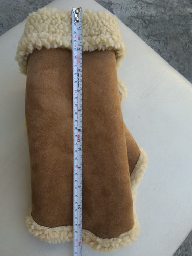 chamarra invierno con borrega talla 2 café ropa para perros