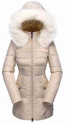 5fe96a8a Chamarra Larga Mujer Abrigo Elegante Chaqueta De Dama Frio
