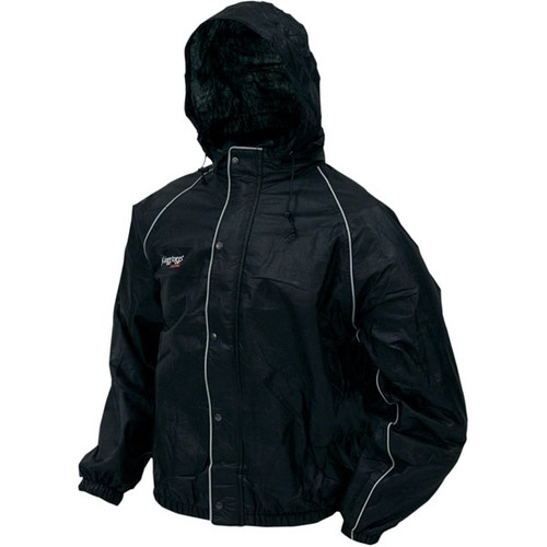chamarra lluvia frogg toggs road toad negro 2xl