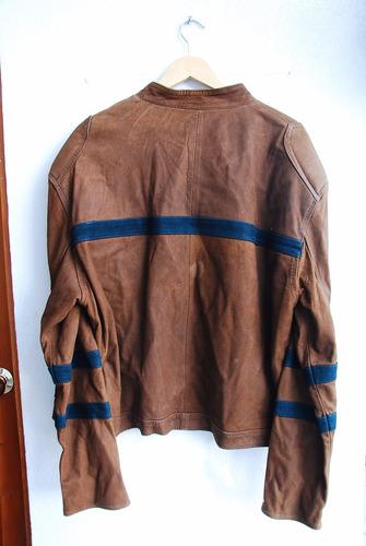 chamarra masculina marrón piel fina moda juvenil #27