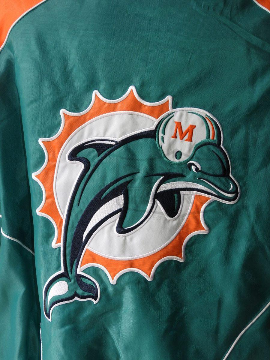 chamarra miami dolphins delfines nfl talla xl logo retro. Cargando zoom. a1ef25dc0a4