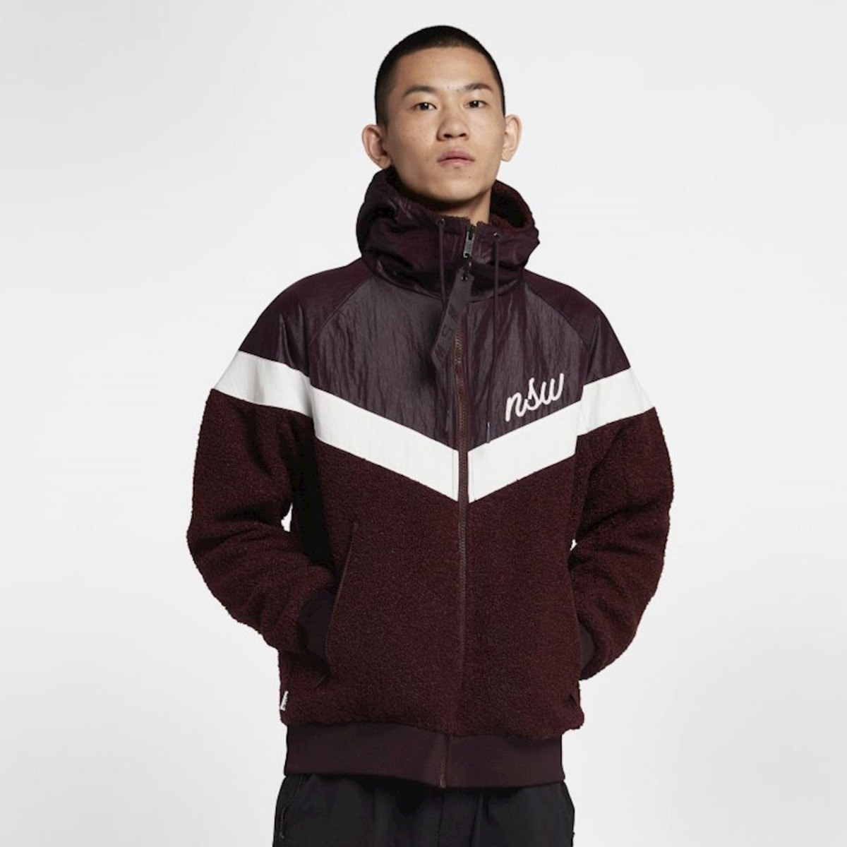 replicas special discount look out for Chamarra Nike Sportswear Nsw Sherpa Windrunner Original