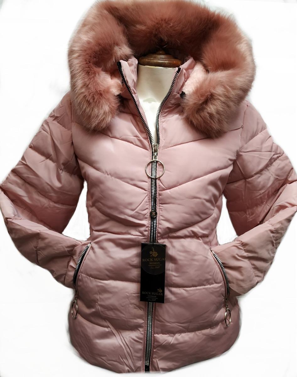 d81a444ad Chamarra Para Dama Con Gorro Desmontable Color Rosa