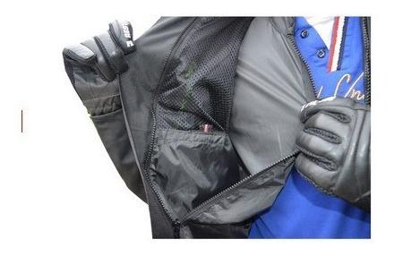 chamarra restyle airflow mesh motociclista talla l