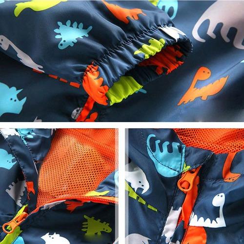 chamarra rompeviento bebé modelo dinosaurios niño