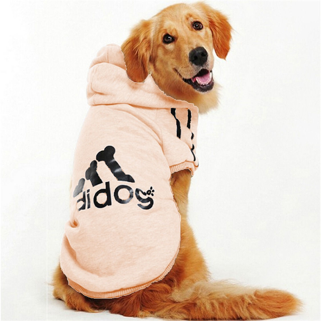 Chamarra ropa perro sudadera adidog rosa mascota 4xg en mercado libre - Comprar ropa en portugal ...