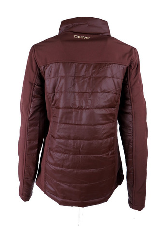 chamarra spandex impermeable wj2010 brown