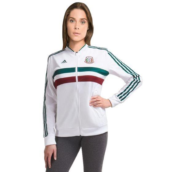 Chamarra Sport adidas Selección Mexicana Para Mujer 2018 ... dd20ccefd306e