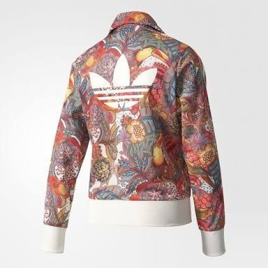 3b56024feef15f Chamarra Sudadera adidas Flores Mujer - $ 999.00 en Mercado Libre