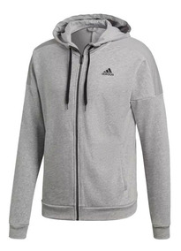 Sudadera Hombre Chamarra Top Hooded Track Gris Adidas eEH9YWD2bI