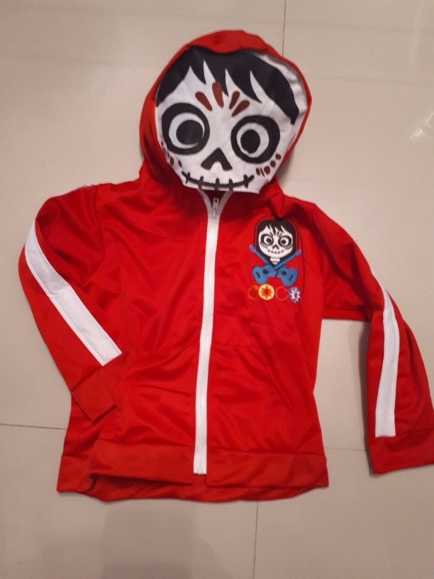 baratas para descuento 74078 63e08 Chamarra Sudadera Miguel Coco Bordada Disfraz Coco