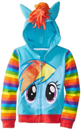chamarra sudadera my little pony, disfraz!!!