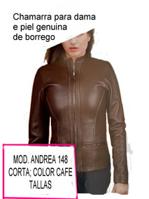 14894010 Chamarras De Piel Andrea Para Dama en Mercado Libre México