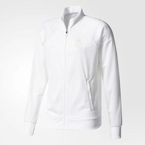 ec28ab5579a0c Chamarra Adidas Real Madrid Blanca en Mercado Libre México