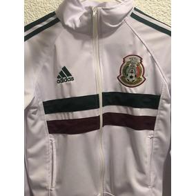 df26cab2defcb Chamarra De La Seleccion Mexicana Blanca en Mercado Libre México