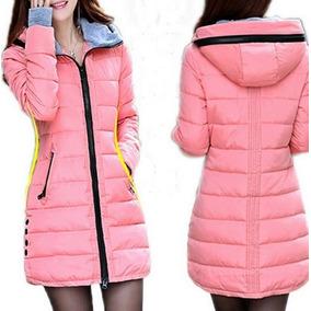 60078b3ae9f68 Chamarra Cazadora Mujer - Chamarras de Mujer Rosa claro en Mercado ...