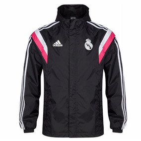 aa14c64017c01 Chamarra Impermeable All Weather Real Madrid 2015 adidas