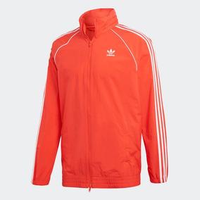 bee3752cdcf57 Chamarra Rompevientos Sst adidas Originals Hombre Casual Gym