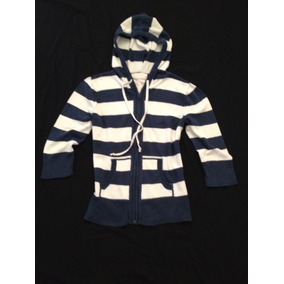 72e2cd98f4053 Chamarra Hoodie Striped Aeropostale T- M Original