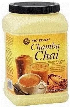 chamba chai te latte rinde  bebida cafe cadena instantaneo