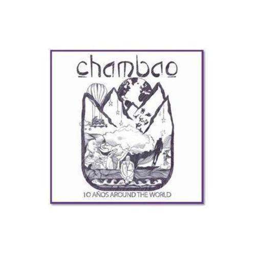 chambao 10 años around the world cd x 2 nuevo