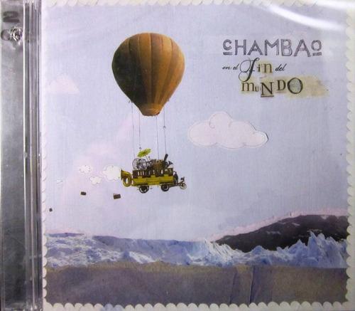 chambao - en el fin del mundo cd & dvd nuevo