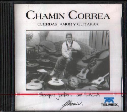 chamin correa cuerdas, amor y guitarra cd raro nuevo sellado