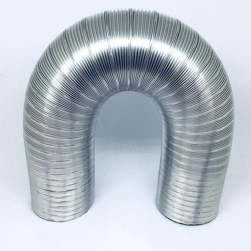chaminé + tubo alumínio p/ aquecedor água a gás 100mm 1,5m