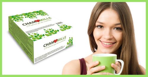 chamomille 120 sachês chá emagrecedor