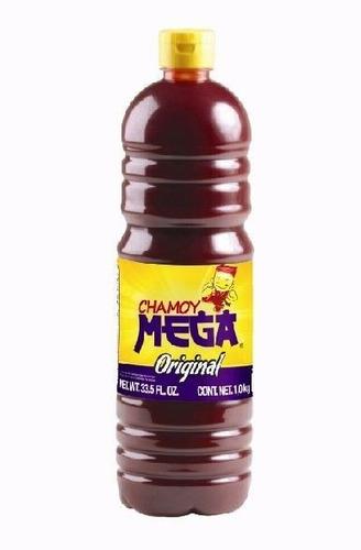 chamoy mega, salsa de chamoy,  1 litro