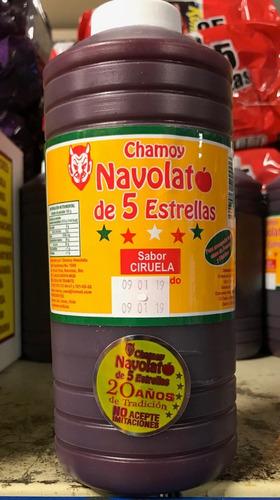 chamoy navolato 5 estrellas sabores varios caja 15 botellas