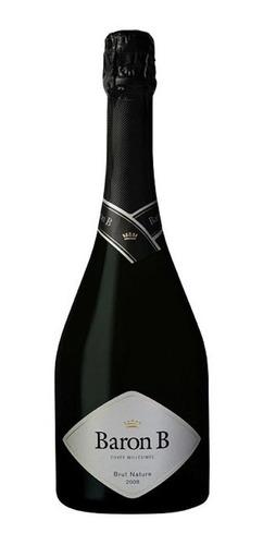 champagne baron b brut nature caja x 6 botellas