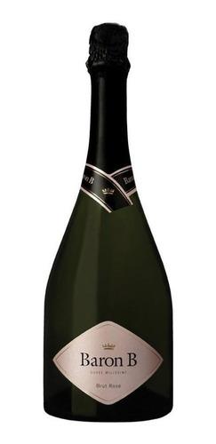 champagne baron b brut rose caja x 6 botellas