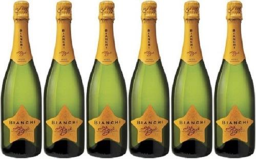 champagne bianchi extra brut caja x 6 botellas