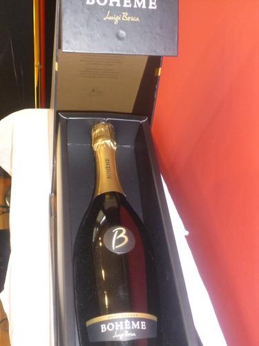champagne boheme luigi bosca con estuche