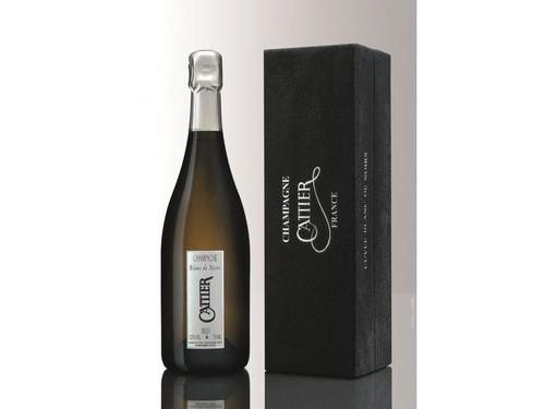champagne cattier - origen reims, francia. pommery