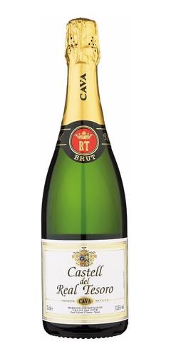 champagne cava real tesoro brut español envio gratis caba
