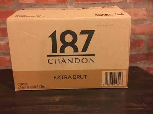 champagne chandon 187 caja 24u