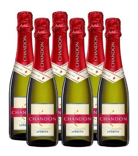 champagne chandon 750cc x 6 botellas chandon aperitif