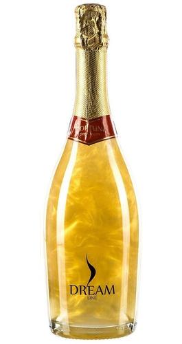 champagne dreamline fortuna con efecto glitter envio gratis