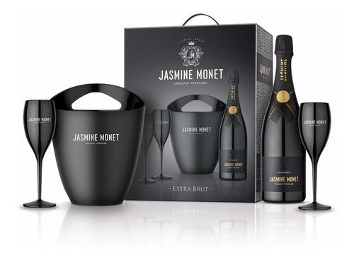 champagne jasmine monet - black extra brut kit