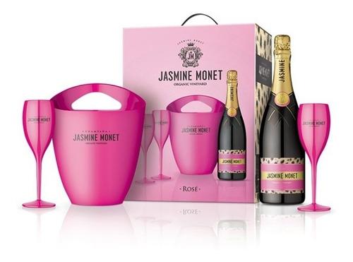 champagne jasmine monet pink rose organic vineyard kit
