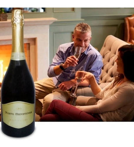 champagne nieto senetiner brut nature 750 pack caja x6