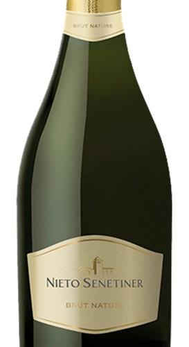 champagne nieto senetiner brut nature x 6 botellas
