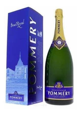 champagne pommery brut royal magnum 750ml