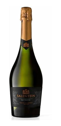 champagne salentein brut nature!! x 750cc. botella