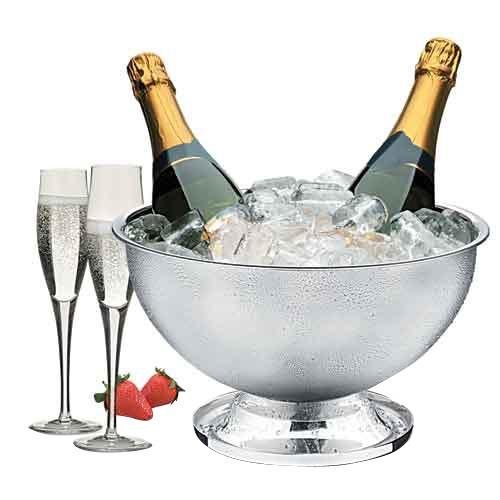 champanheira com separador para 03 garrafas 06 lts - brinox