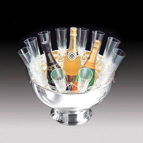 champanheira de aco inox c/sup modena 40